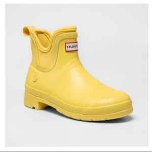Hunter for Target Yellow Ankle Rain Boots